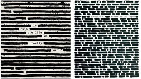 Roger Waters vs Emilio Isgrò. Il Tribunale di Milano blocca il nuovo disco dell'ex Pink Floyd